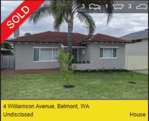Property valuation Belmont WA 6104