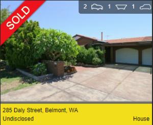 Real estate appraisal Belmont WA 6104