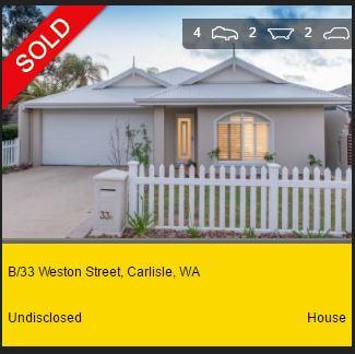 Real estate appraisal Scarborough WA 6019