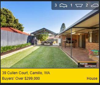 Real estate appraisal Camillo WA 6111