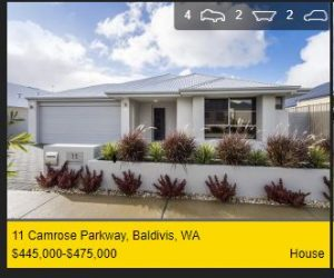 Real estate appraisal Baldivis WA 6171