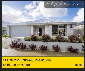 Real estate appraisal Baldivis WA 6171