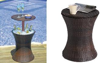 Table ice bucket holder