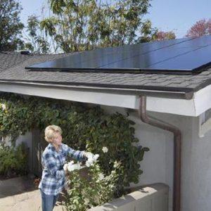 Rooftop sloar panels