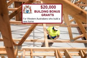 Building Bonus Grant Western Australia