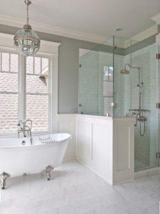Creating hamptons style bathroom