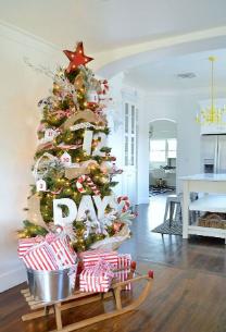 Christmas tree claendar