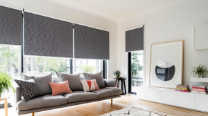 Rolloer blinds for indoors