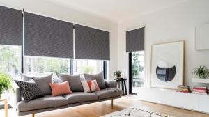 Rolloer blinds for indoors